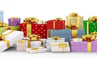 Ein Haufen Geschenke