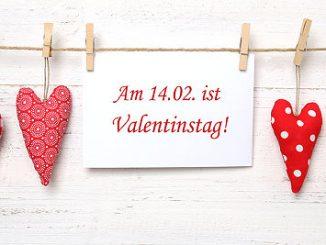 Was schenken zum Valentinstag?