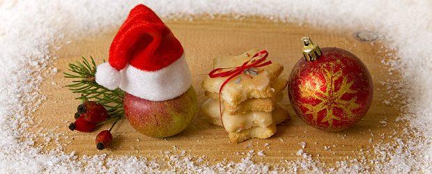 Plätzchen und Weihnachtsdeko