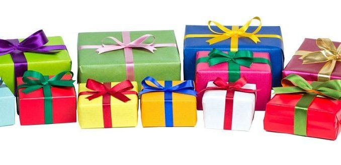 viele Geschenke